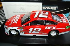 Ryan Blaney #12 DEX Imaging 2018 Ford Fusion AUTOGRAPHED 1:24 NASCAR Die-Cast