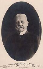 Reichspräsident von Hindenburg AK alt Foto Scherl Adel und Monarchie 1703140