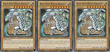 Blue-Eyes White Dragon Deck #2 - Red-Eyes Darkness Metal Dragon - White Stone NM