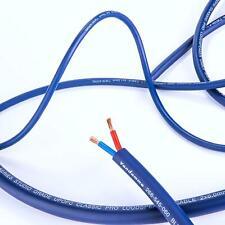 Van Damme PRO AV HiFi Speaker Cable 2.5mm Twin Core. Passive Blue Series Studio