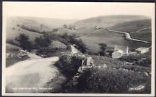 Swaledale from Silver Hill. Vintage Real Photo Postcard. Free UK Postage