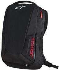 Alpinestars City Hunter Black Red Motorbike Backpack Rucksack INCL RAIN COVER