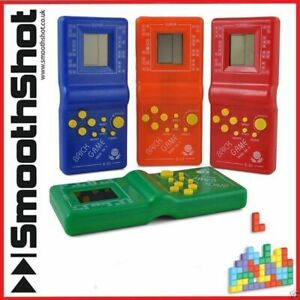 LCD Game Electronic Vintage Classic Brick Handheld Game Arcade Pocket Toy
