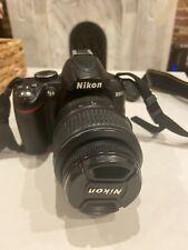 Nikon D3000 10.2 MP Digital SLR Camera (AF-S DX VR) & 18-55mm Lens w/ Bag - Used