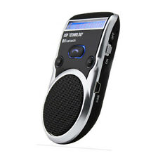 Portable LED Stereo Speaker Solar Powered Wireless Bluetooth Handsfree Car Kit