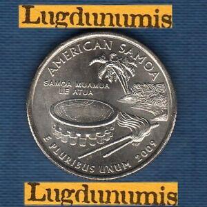 Etats Unis Quarter Dollar 2009 D Samoa série Etats Neuve Rouleau