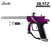 Azodin Blitz 3 Electronic Paintball Gun Marker - Purple New Free Shipping