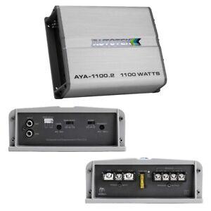 AYA11002 Autotek 2 Channel Amplifier, 1100W Alloy Class A/B NEW!!