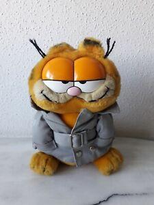 Garfield Figur Plüsch Stofftier Agent Spion 1978/1981 Kuscheltier