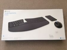Microsoft Wireless Sculpt Ergonomic Desktop Tastatur und Maus set, Neu. QWERTZ