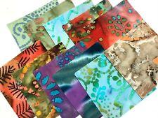 "40 5"" Quilting Fabric Squares Pre Cut Quilting Batik Play"