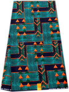 Attractive High Quality African Ankara Wax Print, 100% Cotton, Sell by 6 Yards