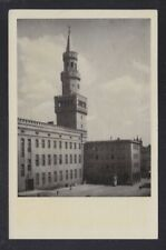 POLAND 19(?) TWO POSTCARDS OF OPOLE TOWER & CITY HALL VIEWS UNUSED