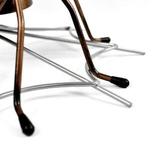 1pc Spider Design Rack Iron Stand Red Display Bracket