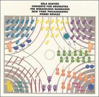 Bartok Concerto For Orchestra Miraculous Mandarin CD SACD 2002 Sony