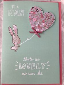 Nan Mothers Day Card, To a Nan that's as lovely as can be , enjoy ... Hallmark