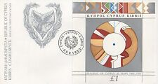 1990 REPUBLIC OF CYPRUS 30 YEARS FIRST DAY COVER FDC