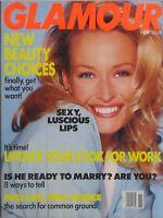 ESTELLE LEFEVRE November 1992 GLAMOUR Magazine