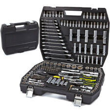 Juego de herramientas maletin 216 pzs carraca 1/4 1/2 3/8 llaves vasos - 5370M