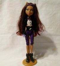MONSTER HIGH Clawdeen Wolf Frankie's Sweet 1600 Doll Posable Toy 2008 Mattel