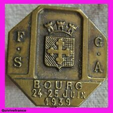 BG1762 FSGA GYMNASTIQUE  BOURG 1939