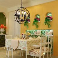 5 Feux Plafonnier Suspensions Luminaire Suspendu Lustre Lampe