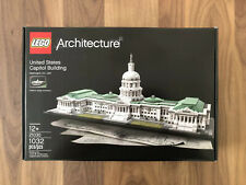 New LEGO Architecture United States Capitol Building (21030)