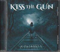 KISS THE GUN / NIGHTMARES * NEW CD 2017 * NEU *