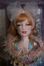 Arabella OOAK 1/3 BJD Size Cloth Articulated Boudoir Doll Art Doll by Gayle Wray
