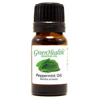 5 ml Green Health Brand Peppermint Essential Oil - All Natural - Bottled in USA