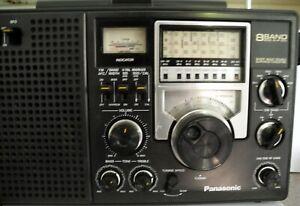 Vintage Panasonic Shortwave Radio RF-2200 8 Band AM/FM/SW Tested