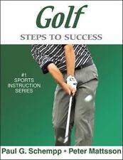 Golf: Steps to Success, Peter Mattsson, Paul Schempp, 0736059024, Book, Acceptab