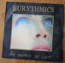 Eurythmics, the miracle of love / when tomorrow comes live, SP - 45 tours