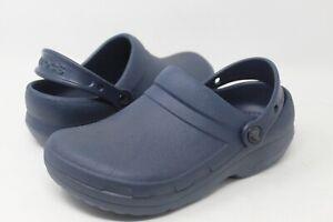 Crocs Unisex Bistro Navy Durable Croslite Clog Size M(5)W(7)