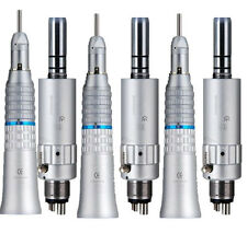 6 Packs NSK Dental Slow Low Speed Straight Handpiece + E-type Air Motor 4H M7R8