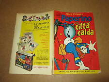 WALT DISNEY ALBO D'ORO N°1 PAPERINO E LA CITTA' CALDA 1956