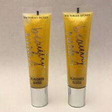2 victoria's Secret Belleza RUSH lemonshine CON SABOR A Brillo de labios 13.6ml