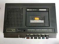 VTG Marantz Superscope C-206LP Professional Cassette Recorder for Parts/Repair