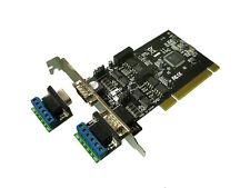 Carte Contrôleur SERIE RS422 RS485 Sur Port PCI - 2 PORTS MOSCHIP ASIX MCS9865