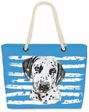 Strandtasche Dalmatiner Shopper Tasche XXL Beach Bag Hund Haustier Hundetasche