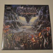 SAXON - ROCK THE NATIONS - 2012 UK 2-LP LTD. COLOR VINYL
