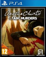 Agatha Christie - The ABC Murders For PAL PS4 (New & Sealed)
