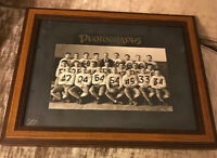 Football Team Vintage Premium Photo Picture Frame