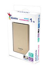 "ADATA HC500 1TB TV Recording Cloud 2.5"" Portable External Hard Drive 1 TB HDD"