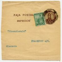 "Argentina to Frankfurt Germany Cover  ""Wrapper"""