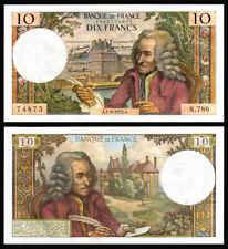 Billet France - 10F Voltaire - 01.06.72 - N 786 - SPL - Fay : 62.57
