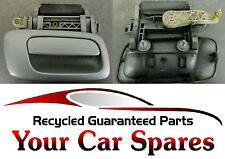 Vauxhall Zafira A - Driver Side Rear External Door Handle - Silver Z157