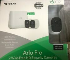 Display Item Excellent Condition Arlo Pro System 2-Camera VMS4230-100NAS