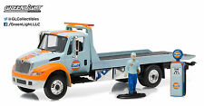 Greenlight 1:64 Heavy Duty Series  2013 Gulf Oil International Durastar Flatbed