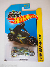 HOT WHEELS CANYON CARVER HW OFF ROAD 126/250 MOTORCYCLE